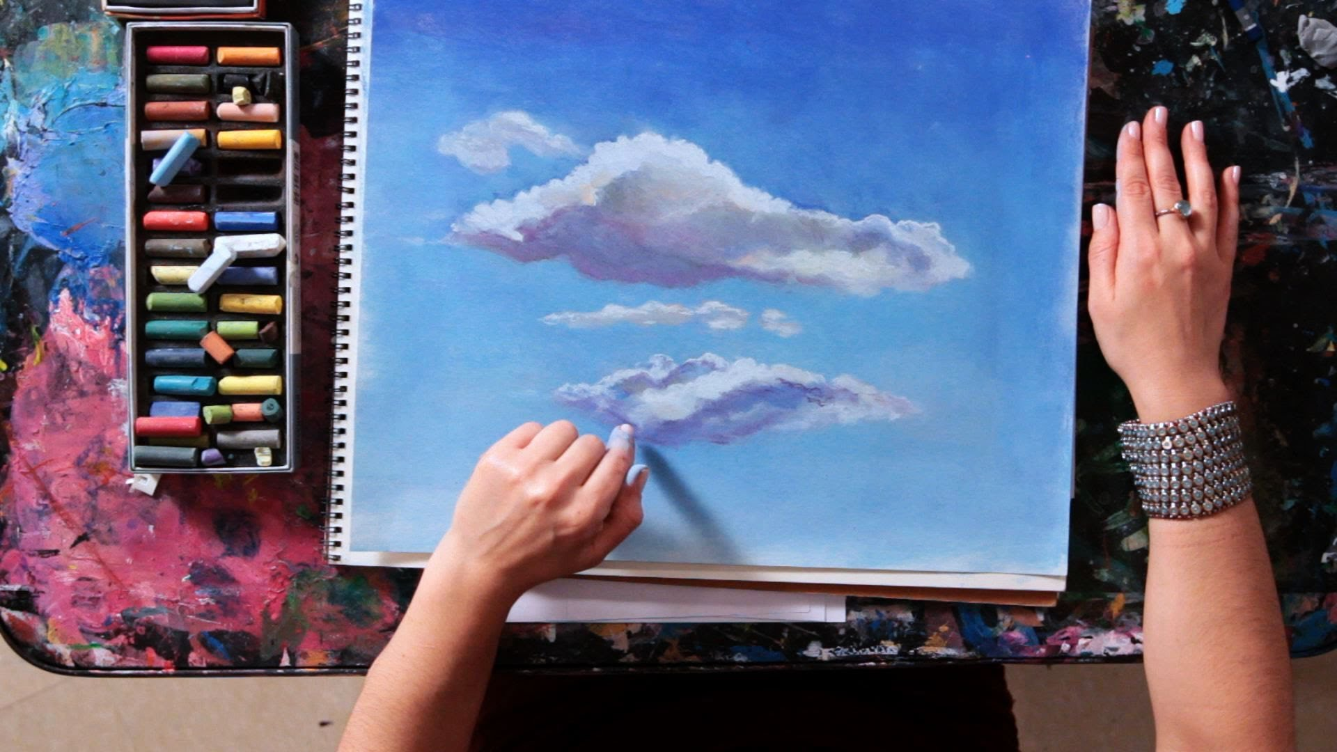 1920x1080 How To Draw A Cloud Drawing Tutorials