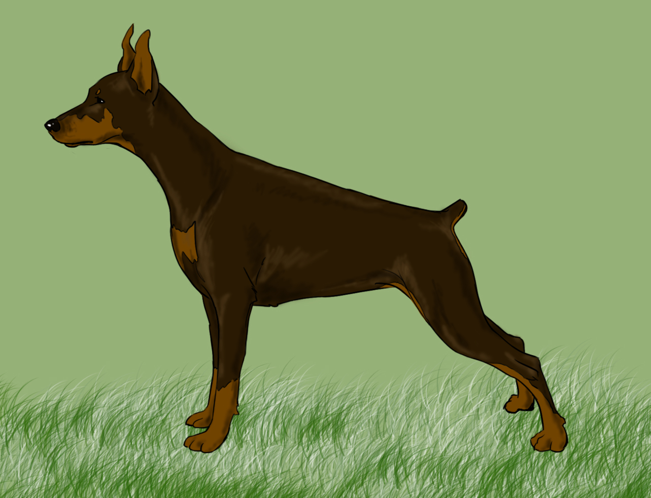 1283x983 5 Easy Ways To Draw A Dog (With Pictures)