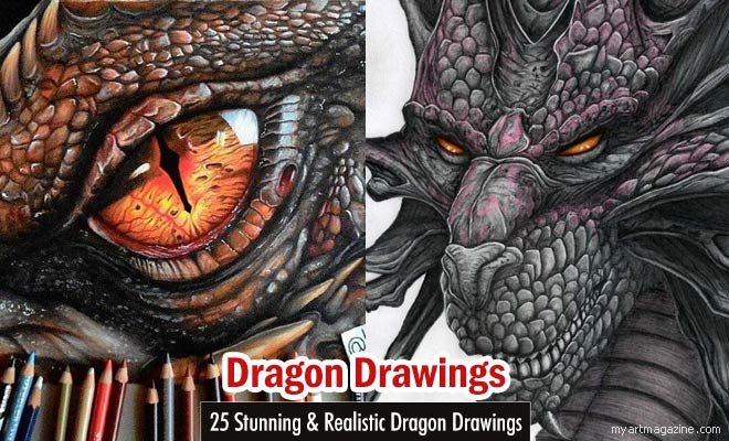 660x400 25 Stunning And Realistic Dragon Drawings From Around The World