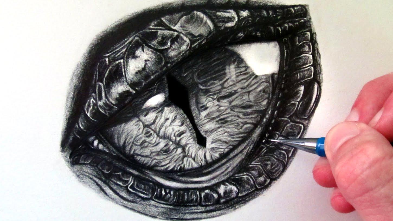 1450x816 How To Draw A Dragon Eye