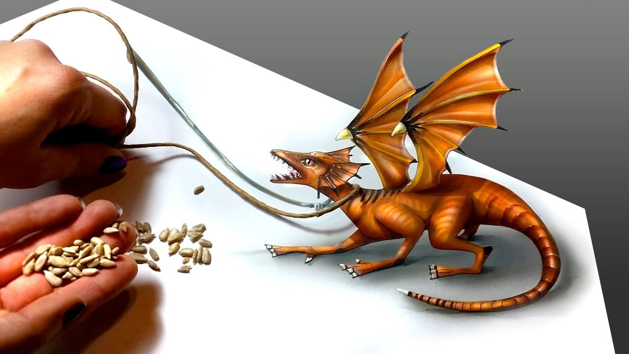 1280x720 Comment Dessiner Un Dragon [Tutoriel De Dessin] [Speed