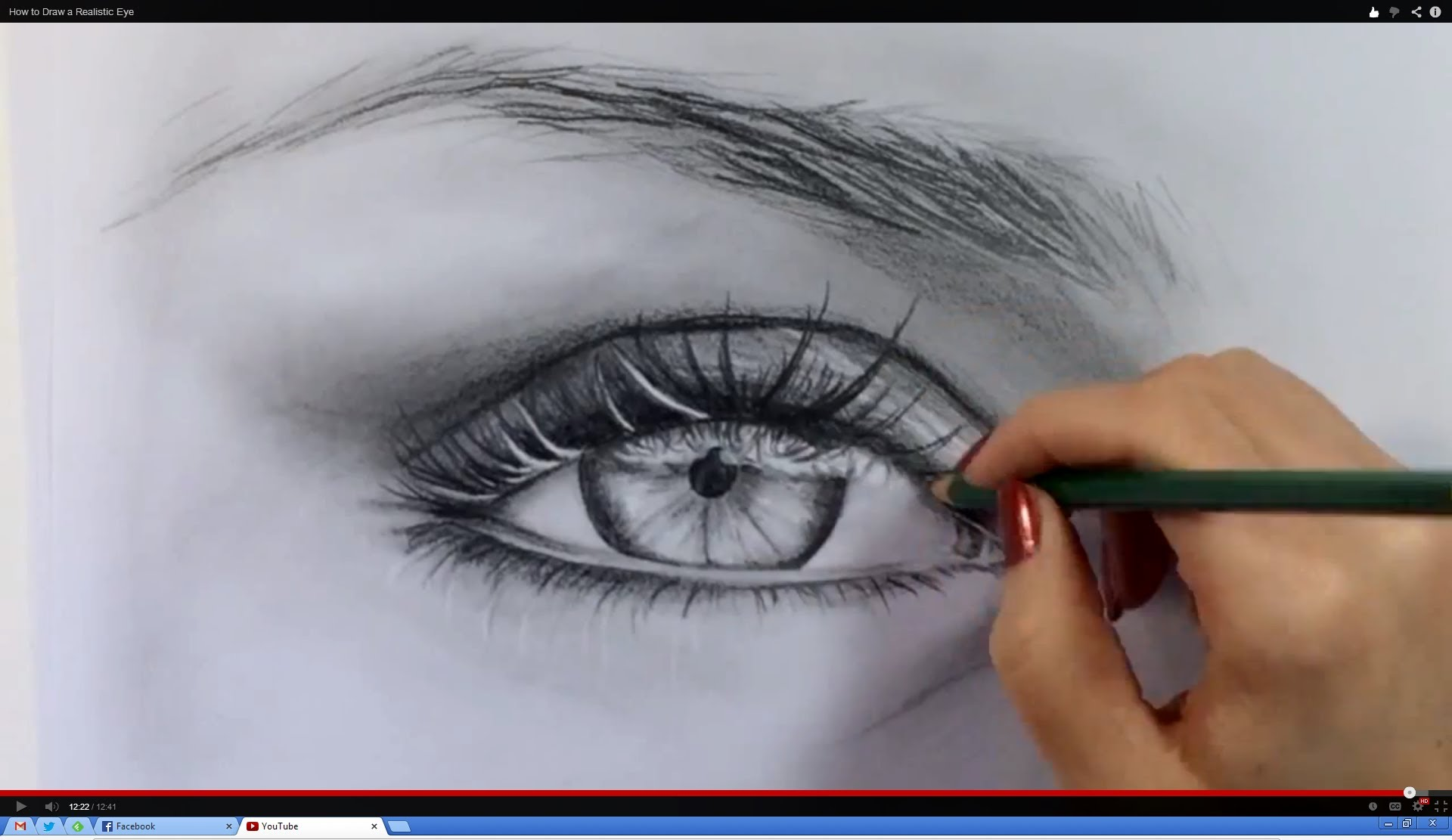 1920x1111 How To Draw A Realistic Eye