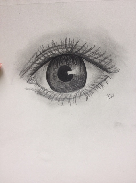 478x640 How To Draw A Semi Realistic Eye
