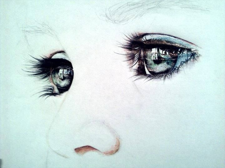 720x540 Realistic Eye Drawing By Alina Kime. Read Full Article Http