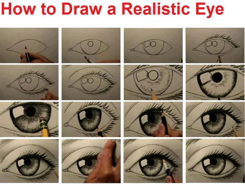 939x709 how to draw a realistic eye rock painting ideas amp helps
