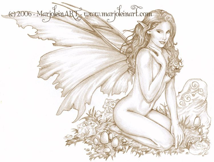 750x569 2009 Linnet Rose This Fairy Rapresents The Spring Season And I