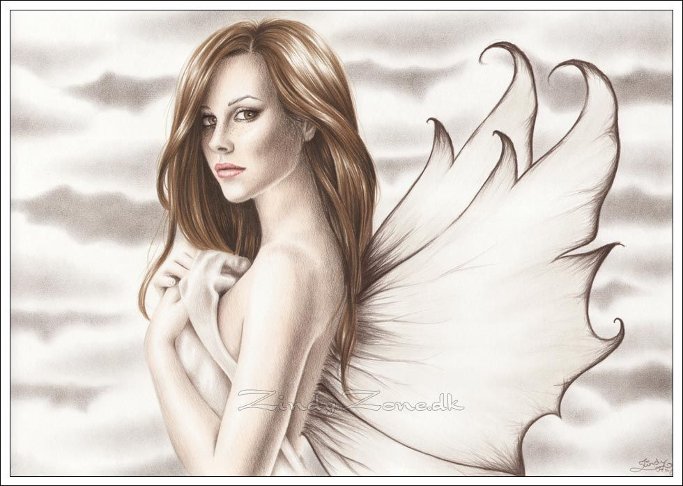 980x698 Fairy Drawing Zindy Zone.dk
