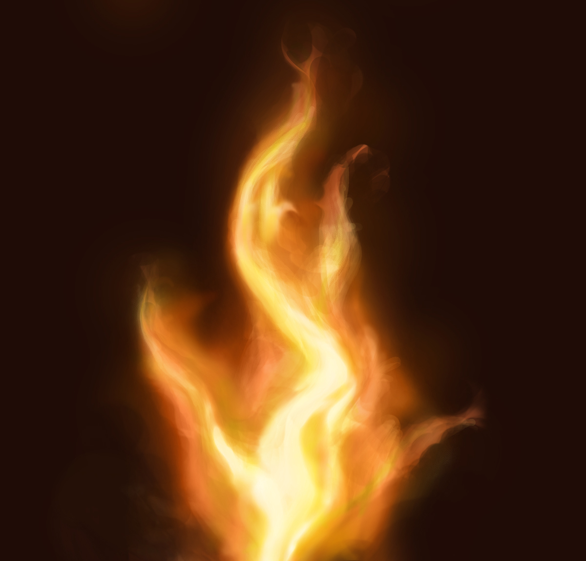 1200x1147 How Can You Draw Realistic Fire Photoshop Creative