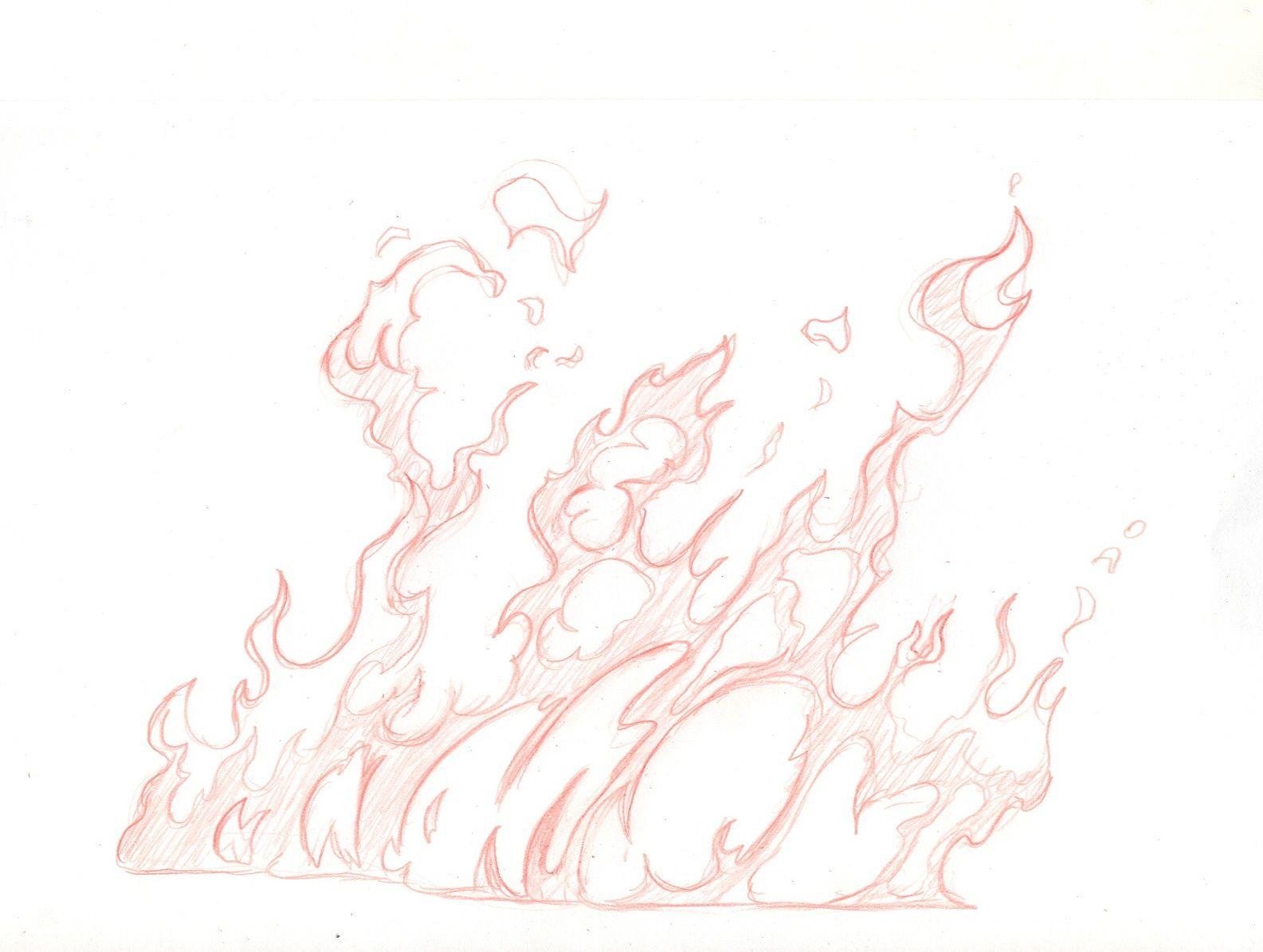 1585x1195 Wild Fire.jpg Mural Massive Gothic Art