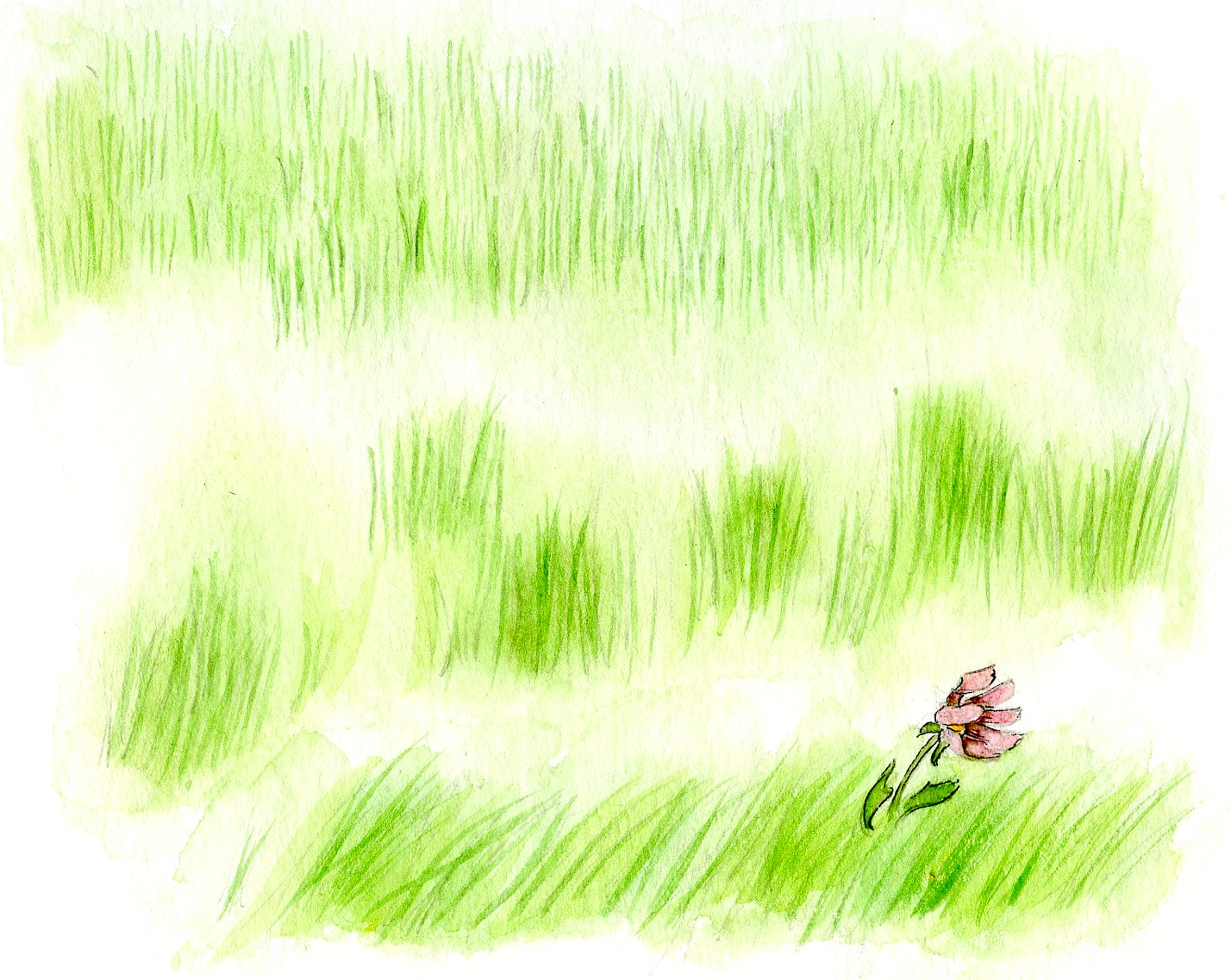 1428x1137 How To Paint Grass In Watercolor Craftsy Tutorial Grasses
