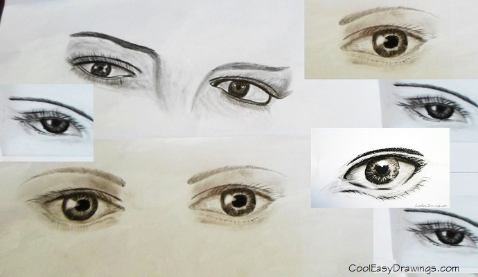 690x400 Of Realistic Human Eyes For Beginners