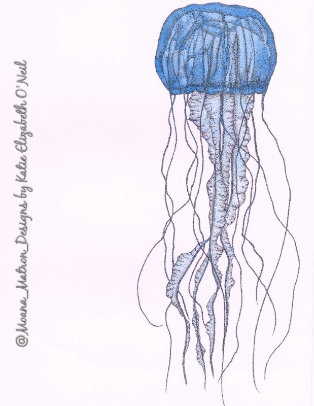 Realistic Jellyfish Drawing at GetDrawings.com | Free for personal ...