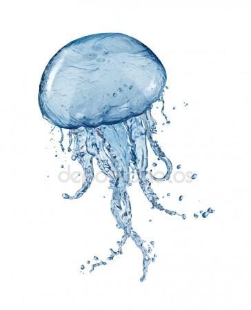 364x450 Realistic 3d Render Of Jellyfish Stock Photo 3drenderings