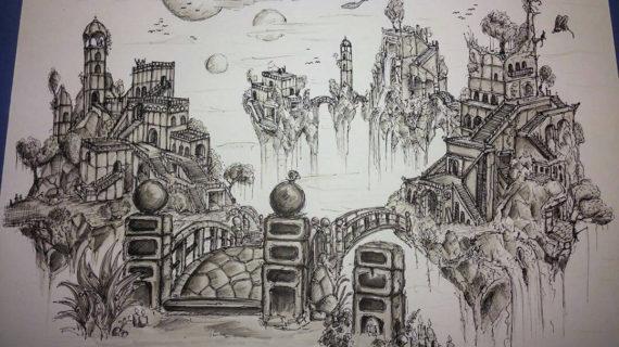 570x320 Cool Landscape Drawings