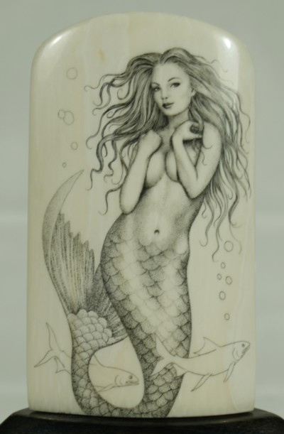 400x611 Gallery For Gt How To Draw Realistic Mermaids Painting Ideas