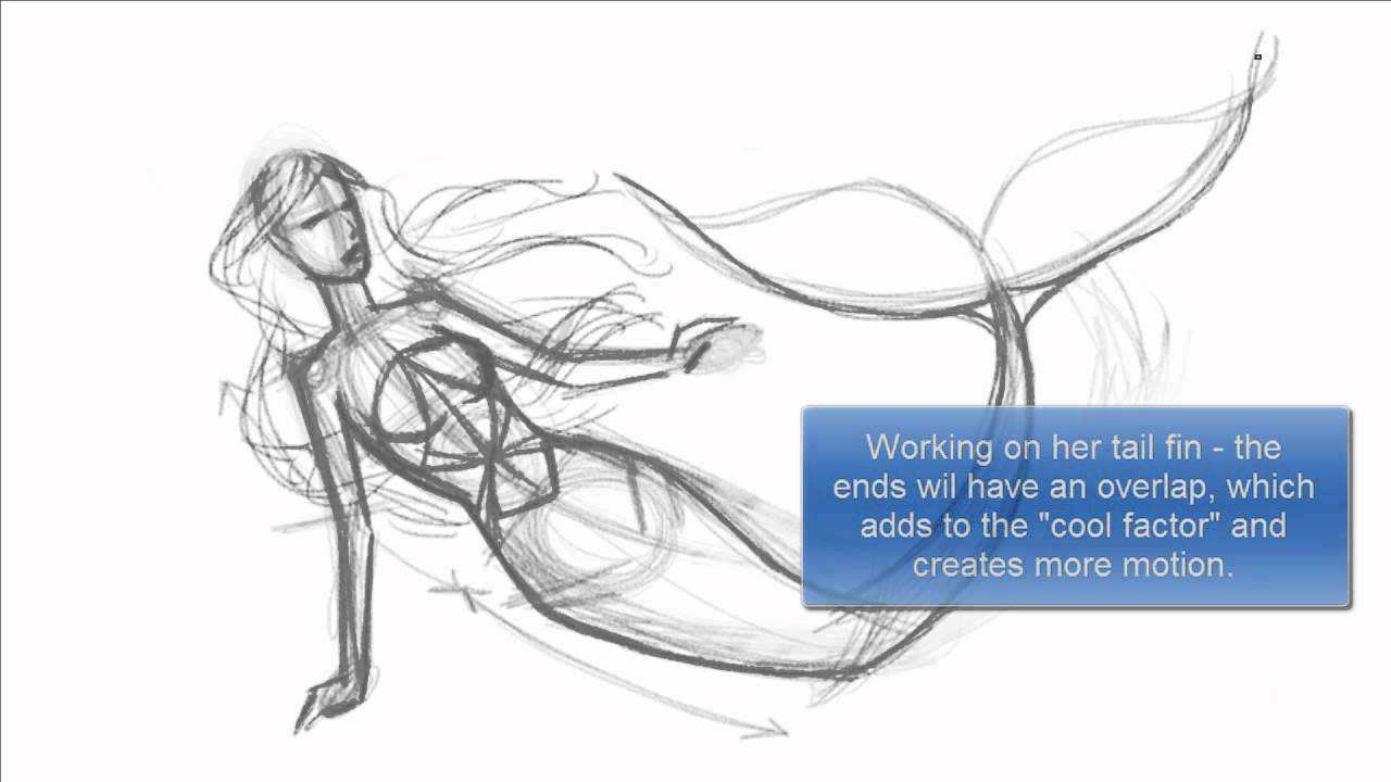 1280x720 How To Draw A Mermaid