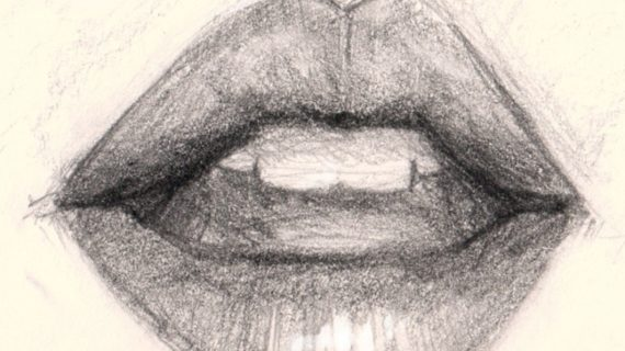 570x320 Drawing Mouths In Pencil How To Draw A Realistic Mouth Amp Lips