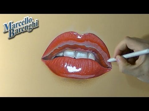 480x360 How To Draw A Female Mouth With Cute Red Lips
