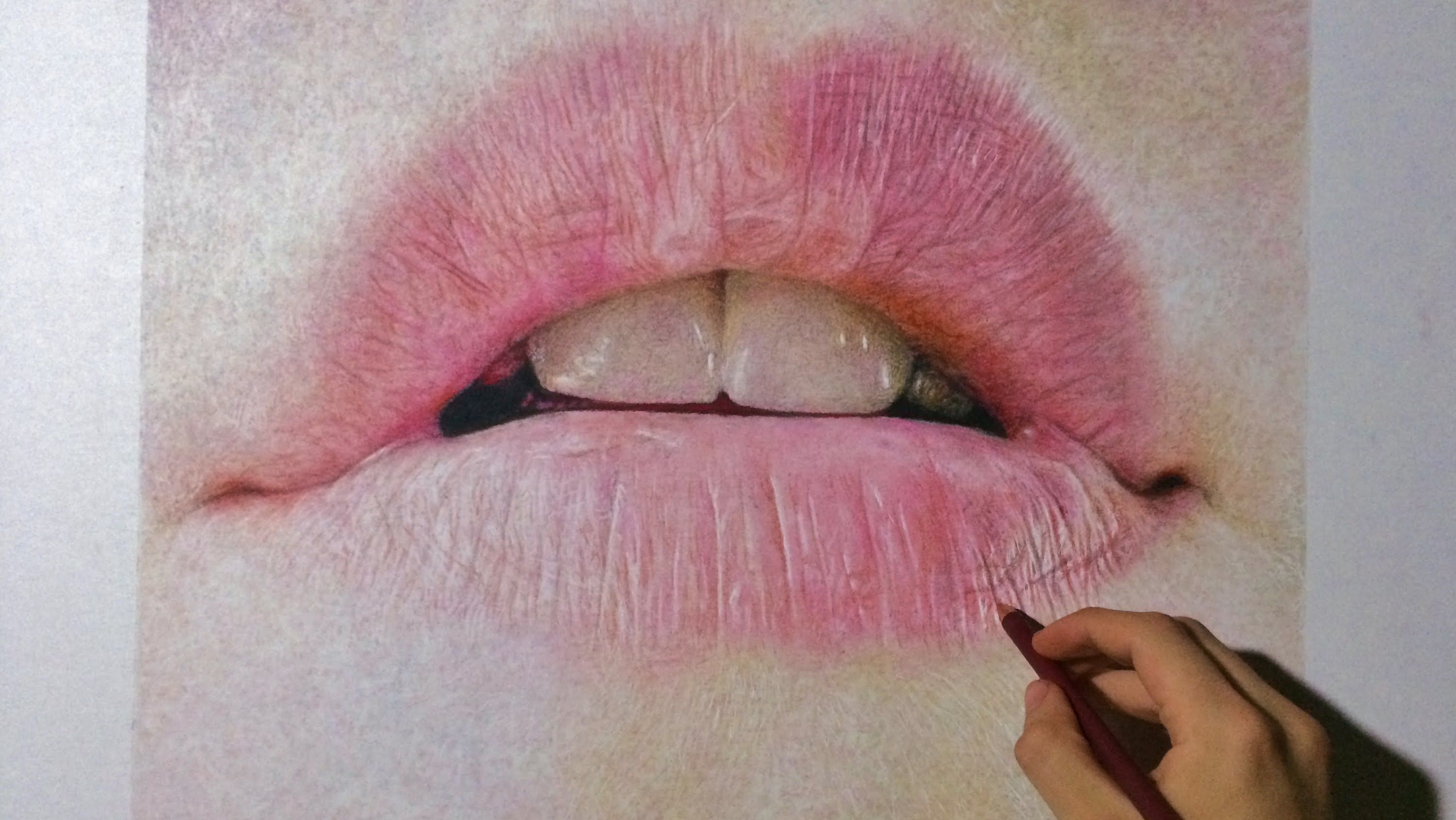 3000x1690 Realistic Lip Drawings How To Draw A Realistic Mouth Amp Lips