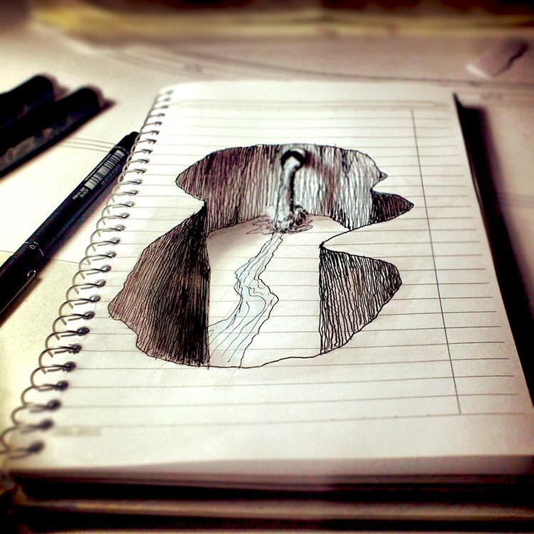750x750 3d pencil drawings