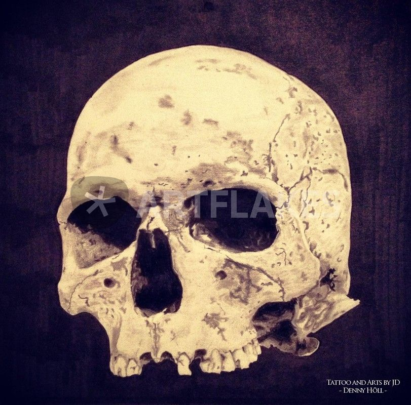 811x800 Realistic Skull Drawing Drawing Art Prints And Posters By Julien