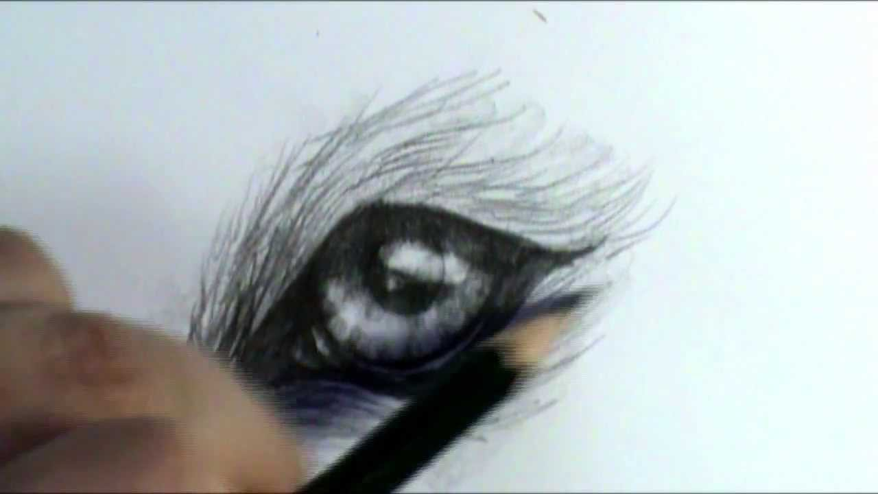 1280x720 How To Draw A Wolf Eye