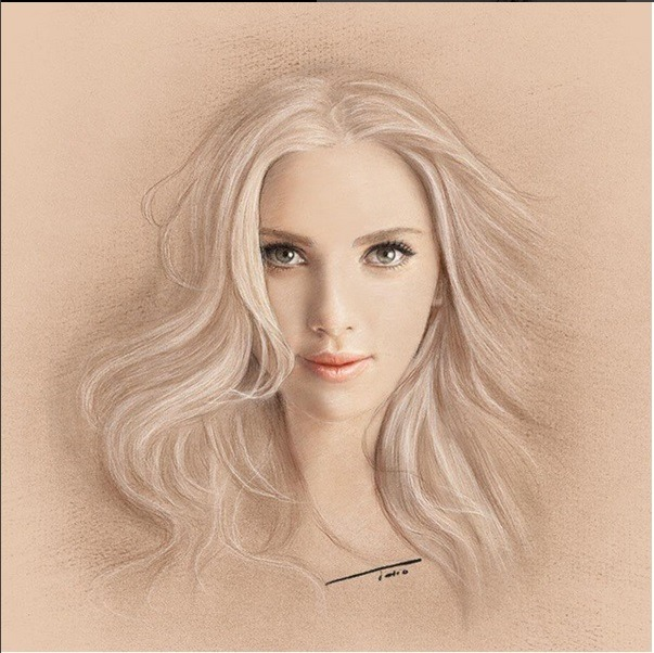 603x602 Realistic Drawing By Tolio