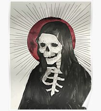 210x230 Grim Reaper Drawing Posters Redbubble