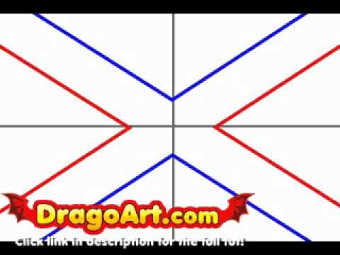 480x360 How To Draw The Confederate Flag, Step By Step