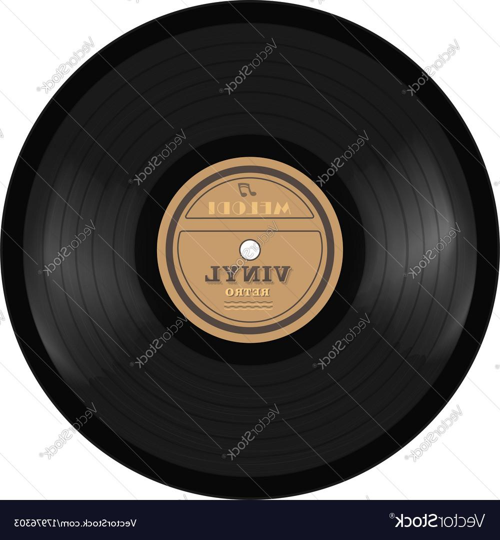 1000x1079 Best Gramophone Vinyl Lp Record Old Technology Vector Drawing