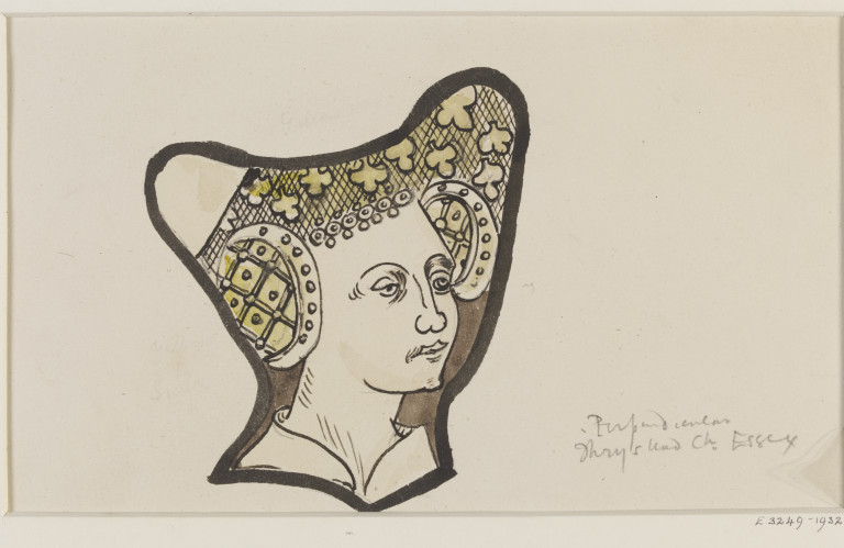 768x499 Record Drawing Of Stained Glass Lethaby, W. R. Vampa Search