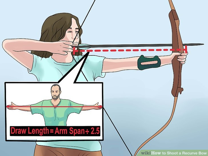 728x546 How To Shoot A Recurve Bow (With Pictures)