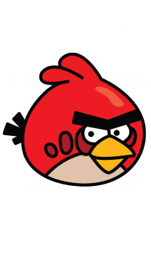 215x382 How To Draw Angry Birds, Red, Easy Step By Step Drawing Tutorial