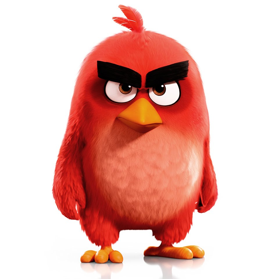 960x960 How To Draw Angry Birds Movie Character Red