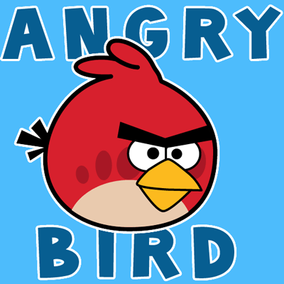 400x400 How To Draw Red Angry Bird From Angry Birds Games With Easy Steps
