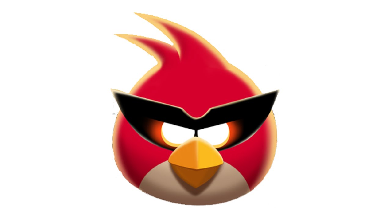 1280x720 How To Draw Red Bird (Angry Birds Space)