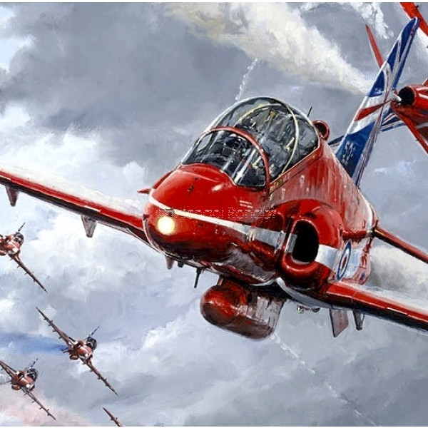 600x600 Red Arrows Michael Rondot Collectair.co.uk