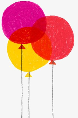 299x452 Balloon, Red Balloon, Yellow Balloon, Drawing Balloons Png Image