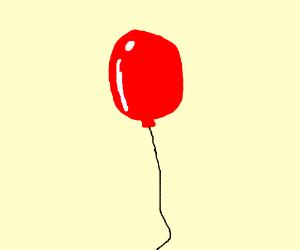 300x250 Shiny Red Balloon