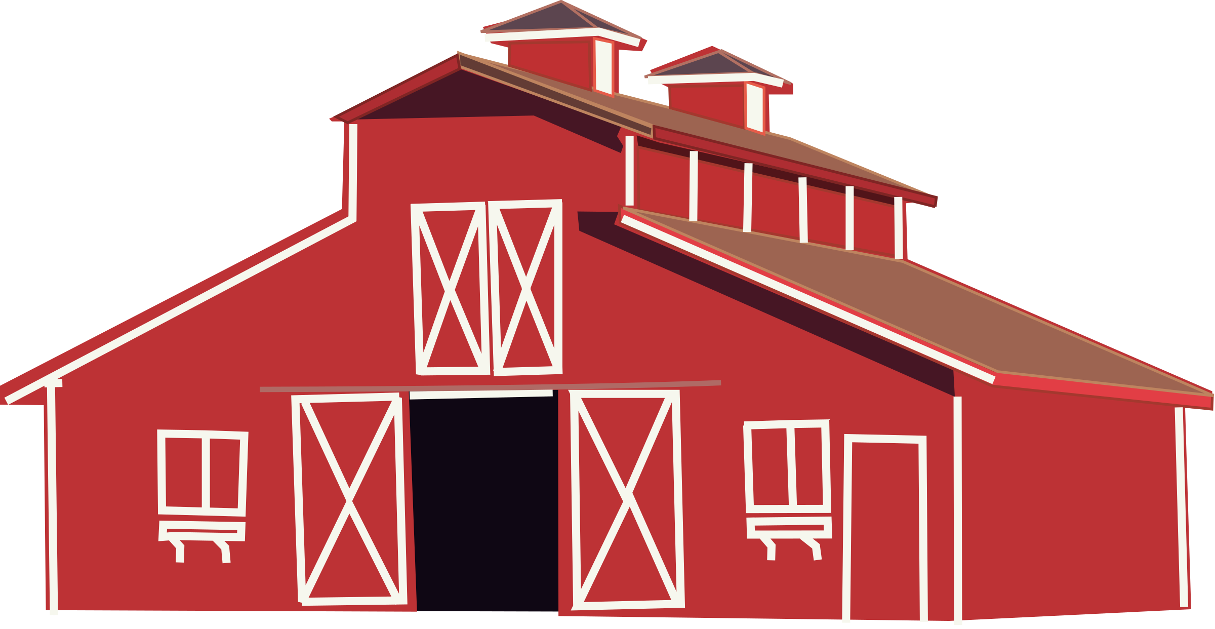Red Barn Drawing at GetDrawings.com | Free for personal use Red Barn ...