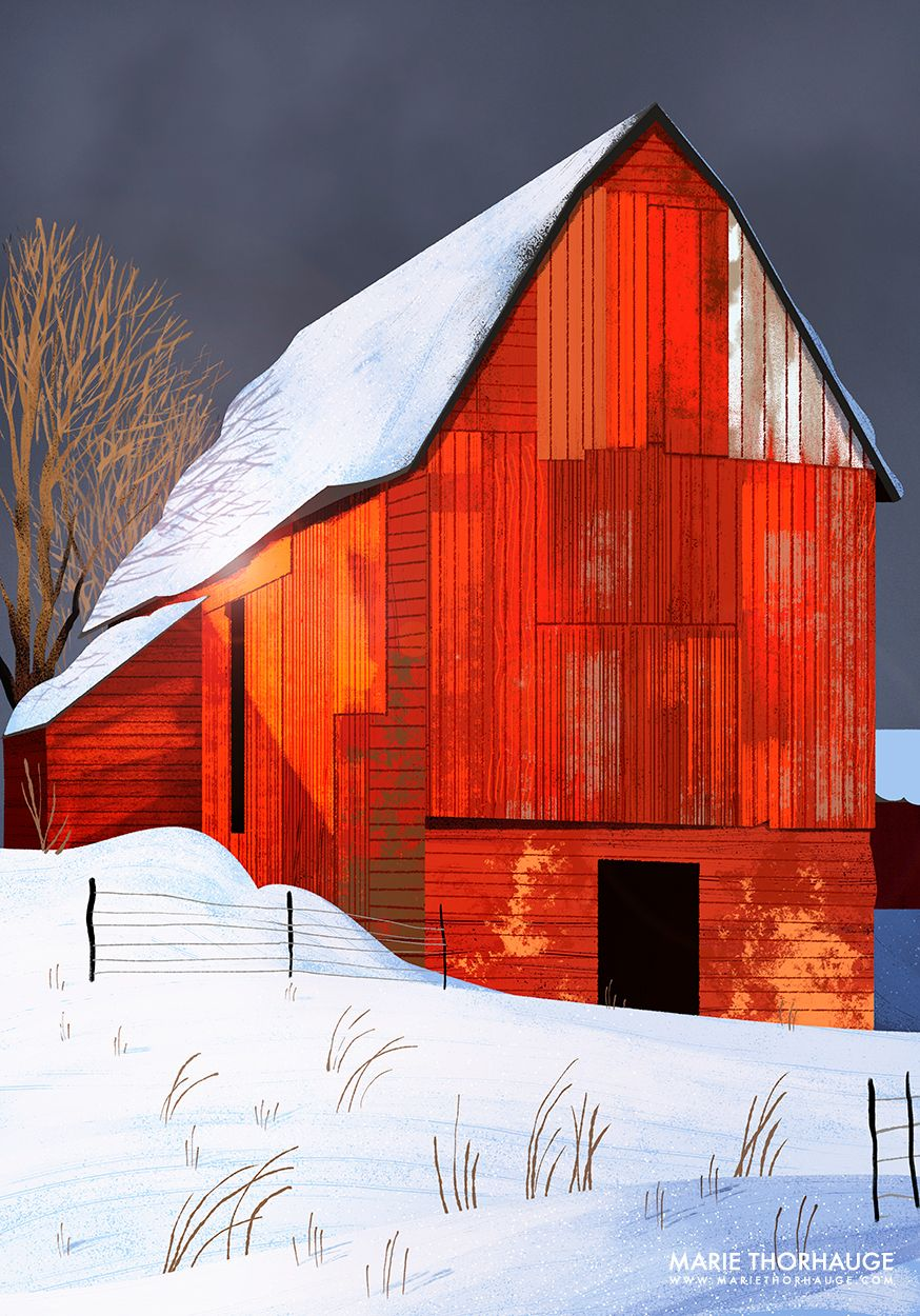 874x1250 Red Barn Environments Red Barns, House