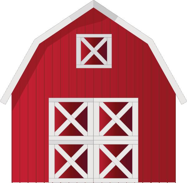 600x588 Red Barn Clip Art