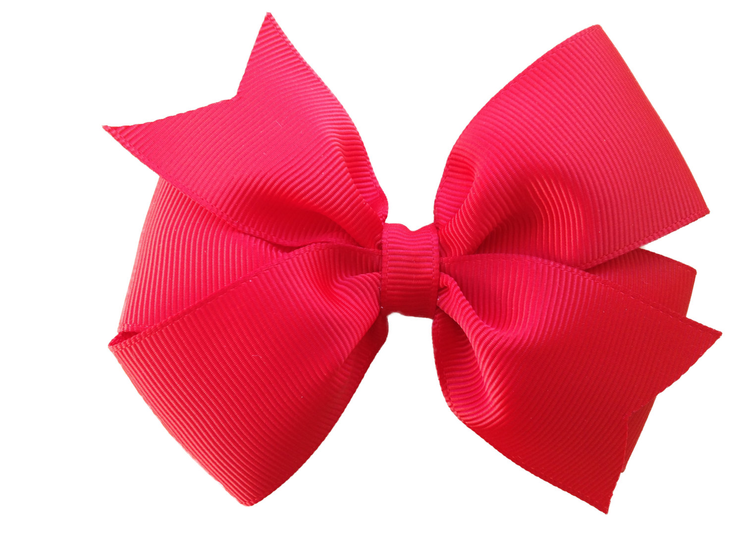 1500x1125 4 Inch Red Hair Bow Red Bow 4 Inch Bows Pinwheel Bows