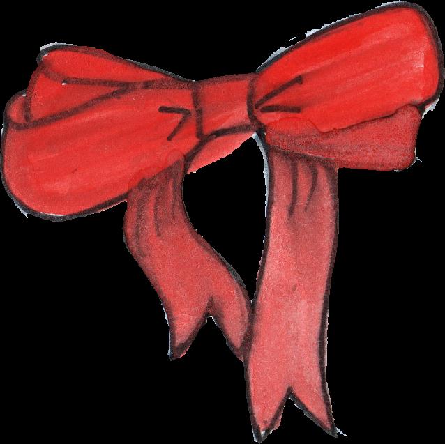 638x637 5 Red Ribbon Drawing (Png Transparent)