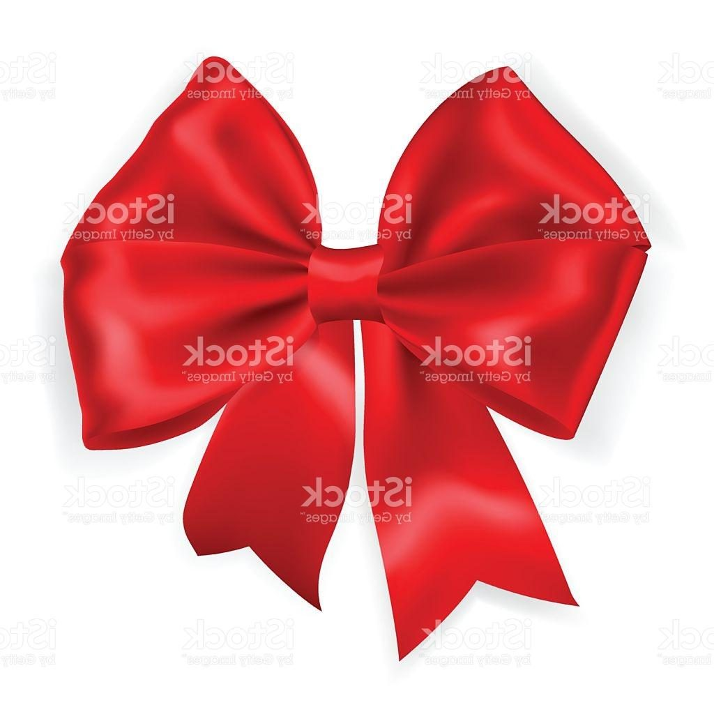 1024x1024 Top Big Red Bow Vector Drawing