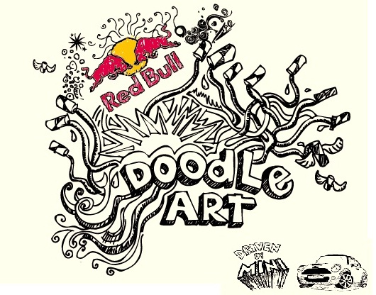 530x416 Red Bull Doodle Art Kicked Start The Side Talk Blog