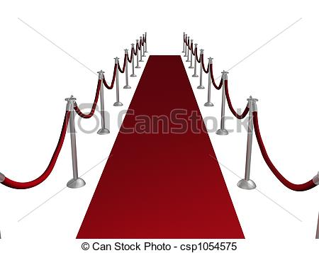 450x357 Illustration Of A Red Carpet Entrance Stock Illustrations
