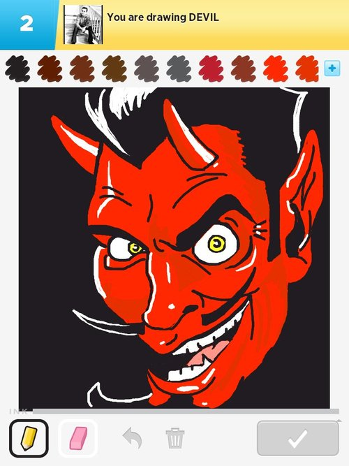 500x667 Devil Drawings