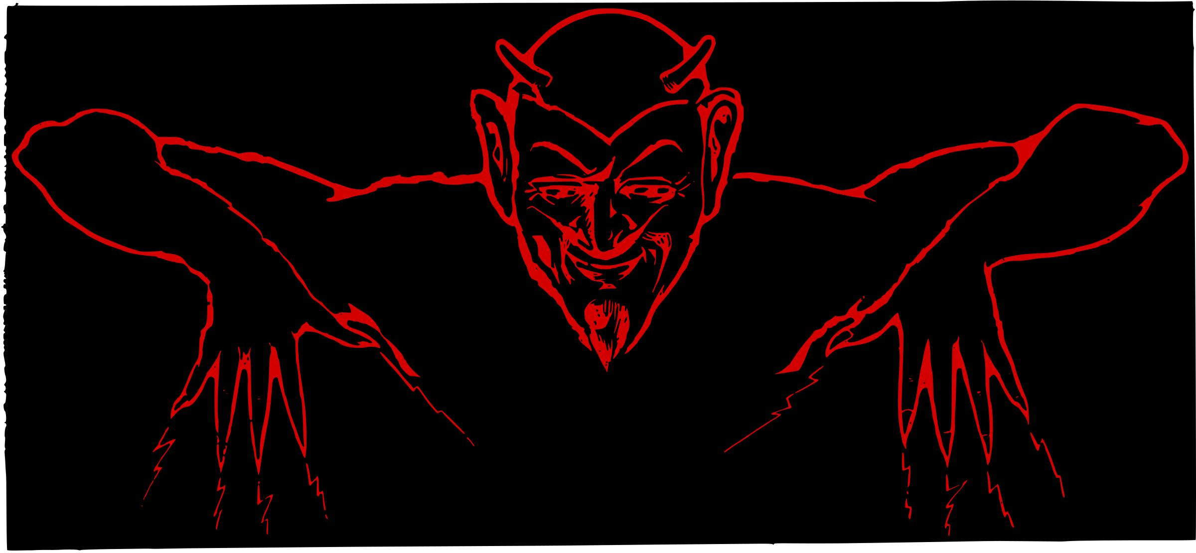 2400x1110 Red Devil Icons Png