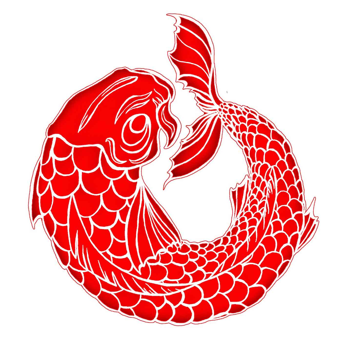Red Fish Drawing at GetDrawings.com | Free for personal use Red Fish ...